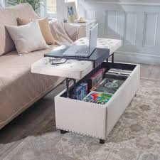 storage ottoman coffee table