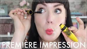 Première impression : Mascara <b>Volum</b>' <b>Express Colossal</b> Chaotic ...