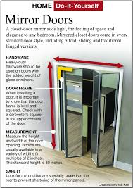 how to install mirrors on closet doors diy projects craft ideas how to s for home decor with s