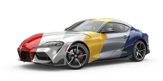2019 Toyota Color Chart 2020 Toyota Supra Colors See It In Yellow Blue Red And More