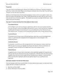 Microsoft Office 2007 Resume Templates 93eca99db166 Greeklikeme