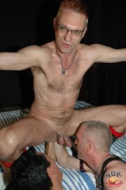 Gay men being fisted