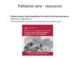 Guidelines For Hospice Admission Flip Chart Palliative Care 101 For Interns