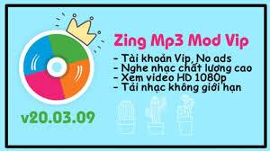 Hướng dẫn tải Zing Mp3 Mod Vip mới nhất v20.03.09 dành cho android -  PvHSenpai