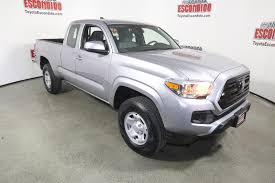 New 2018 Toyota Tacoma SR Double Cab Pickup in Escondido #1016655 ...