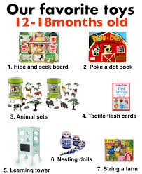 best toys for 12 18 month old best toys for one year olds