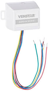 no c wire? venstar add a wire adapter has you covered smart 5 Wire Thermostat Wiring venstar acc0410 add a wire accessory for all 24 vac thermostats (4 to