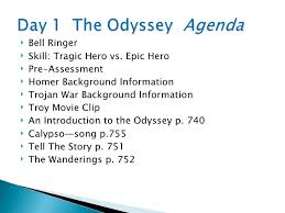 Odyssey Quotes Extraordinary The Odyssey Introduction