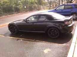 2004 mazda rx8 blacked out. stock rims painted black check it outcar2jpg 2004 mazda rx8 blacked out z
