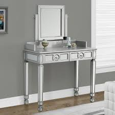 Coaster Company of America Vanity Desk with Optional Mirror and Stool |  Hayneedle