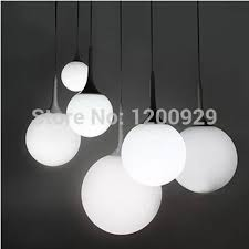 whole modern white milk glass globe lamp pendant light living room home decoration pll 253 exterior pendant lights oil rubbed bronze pendant light from