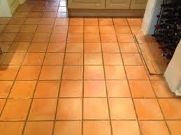 image of beauty terracotta floor tile