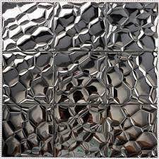 mosaic tile designs. Modren Designs Metallic Mosaic Tile Stainless Steel Patterns Kitchen Backsplash Wall  Brick Tiles Metal Mirror  For Designs N