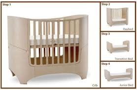 Leander Collection 4-in-1 Convertible Crib in Whitewash ...