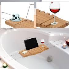 Bathtub Tray Homcom Bathtub Caddy Aosomca