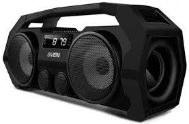 <b>Портативная акустика Sven PS-465</b> 18Вт Bluetooth черный ...