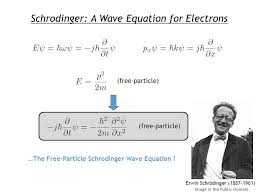 the free particle schrodinger wave equation
