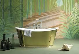 acrylic vs cast iron bathtub slipper tubs brass aqua double difference the brass ideas freestanding