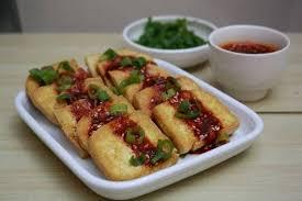 Resep masakan murah meriah sehari hari baru! Dubu Buchim Tahu Dengan Sambal Kecap A La Korea Resep Masakan Makanan Cemilan
