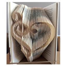 Book Folding Patterns Simple Love Music Book Folding Pattern 48 Pages48 Folds Book