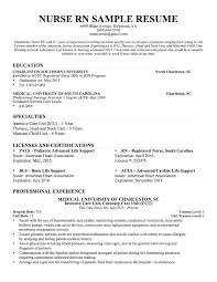 sample resume nurse practitioner sample resume for nurse  sample