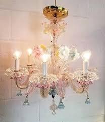 glass chandelier pink blue clear hand blown complete lighting pendants chandeliers hand blown glass