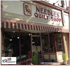 139 best Crafty: Quilt Shops images on Pinterest | Bucket lists ... & Today's Your Andover winner, Kathy Plumley, purchased fabric to make her  wonderful hat from Needles Quilt Shop in Wellboro, PA. Adamdwight.com
