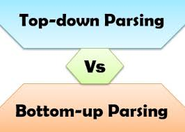 Difference Between Top Down And Bottom Up Parsing With