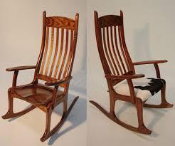 black wood rocking chair amazing carl karacsay furniture blackwood chairs in 19