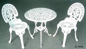 garden furniture wrought iron. Wrought Iron Garden Table And Chairs Patio Set Outdoor Incredible Furniture B