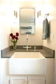 farmhouse sink bathroom vanity farmhouse double