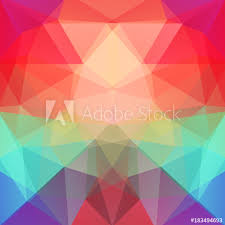 Abstract Polygonal Vector Background Colorful Geometric