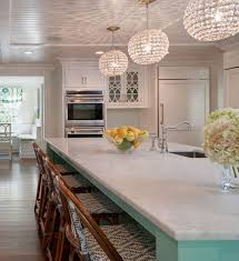 crystal pendant light for kitchen island
