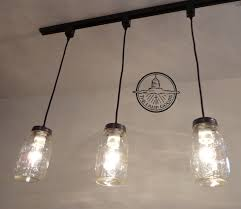 vintage track lighting. Mason Jar TRACK LIGHTING Pendant New Quart Chandelier \u2013 Vintage Track Lighting