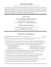 Good Resume Examples Interesting Example Of A Good Cv An Example Of A Good Resume Great Resume