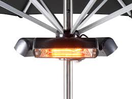 hanging patio heater. Heatmaster 2.4kW Slimline Super Halogen Bulb Electric Infrared Patio Heater - Ruby £104.99 Hanging