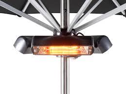 heatmaster 2 4kw slimline super halogen bulb electric infrared patio heater ruby 104 99