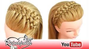 Peinados Faciles Y Rapidos Y Bonitos Con Trenzas Diadema Para
