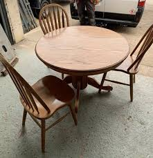 round extending dining table 6 chairs