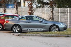 Sport Series 2012 bmw 6 series : 2012 BMW 6 Series Coupe spotted without camouflage