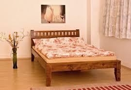 Massivholz Bett Oxford Nougat Oder Honig Edles Akazienholz 120 140