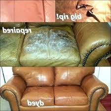 how to repair a leather couch leather couch color repair leather sofa color restoration delightful how