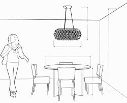 standard pendant light height luxury dining room chandelier ayanahouse hanging a chandelier on height