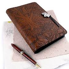 our choice of artisan gifts everything from hand embossed leather journals and craft beer to goat milk soap