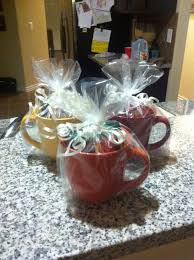 Baby Shower Game Prizes - Dollar tree mugs with different kinds of ...