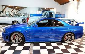 nissan skyline r34 modified. Beautiful Skyline The R34 Is One Of The Nine Cars Used In Movie But What Makes This  Skyline So Special That All Other Were Stunt Mounted On A VW  On Nissan Modified C