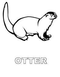 Small Picture 11 Pics of Easy Sea Otter Coloring Pages Sea Otter Coloring