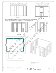playhouse dimensions plans