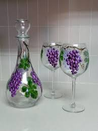 wine glass paintings google search