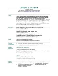 Job Resume Format Best Resume Format Template Free Download